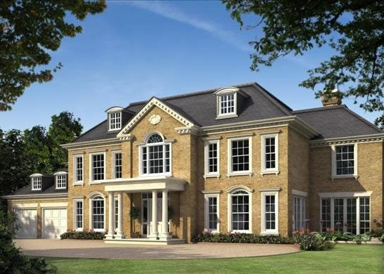 New home builders burwood park walton on thames surrey house for New homes to build